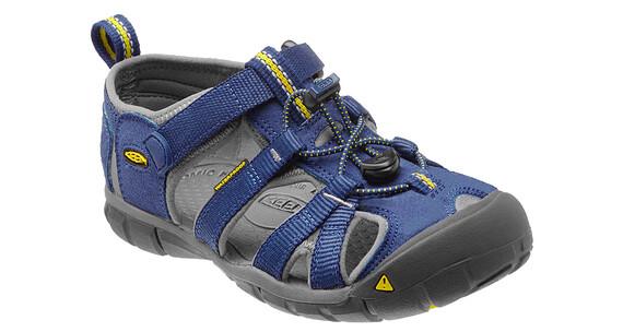 Keen Seacamp II CNX Sandals Youth Blue Depths/Gargoyle
